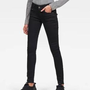 G Star Raw Midge Cody Mid Skinny Jeans size 24 NWT